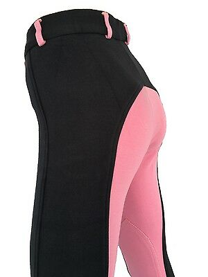 Kids Pink Jodhpurs, Girls Pink Jodphurs Sizes 6,8,10,12,14 Navy and Pink