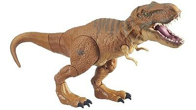 Jurassic World Mega Strike Interactive Tyrannosaurus Toy with Intricate Details