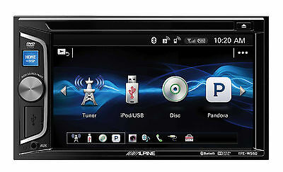 "Alpine  IVE-W560A 6.2"" DVD CD MP3 USB AUX Bluetooth Pandora Receiver"