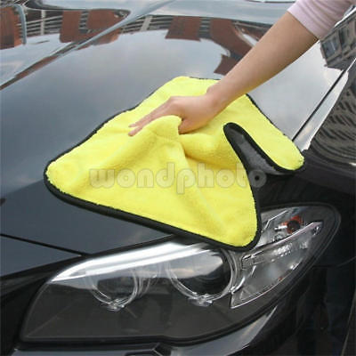 Large Microfibre Cleaning Auto Car Detailing Soft Cloths Wash Towel Duster