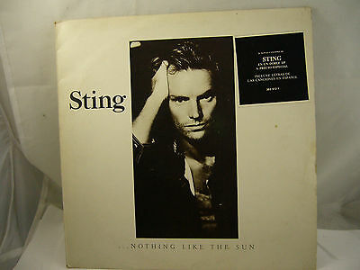 Sting, Nothing like the sun LP Doble