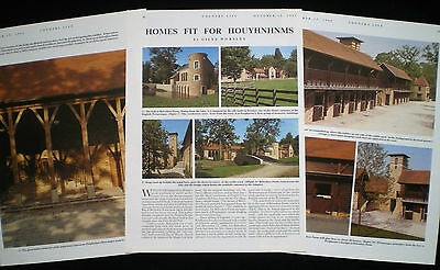 Belvedere Village Farm Ascot Demetri Porphyrios Stable Architecture Article 1992