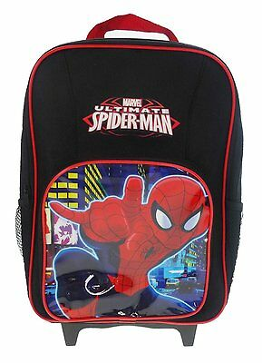 Spiderman Premium Wheeled Children's Bag