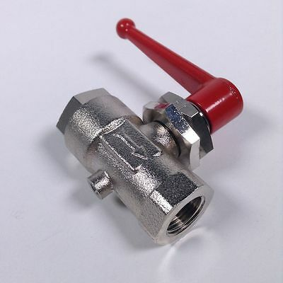 Legris 04491017 In Line Vented Ball Valve 3/8BSPP Threaded Ex NFP