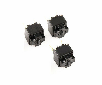 10 pcs  New Panasonic Square Micro Switch for Mouse Black Button NEW