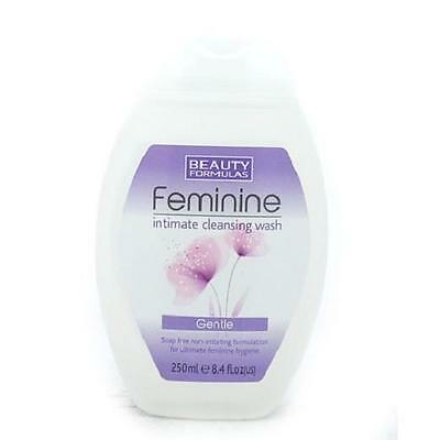 ** BEAUTY FORMULAS LADIES FEMININE INTIMATE CLEANSING WASH NEW **  250ml GENTLE