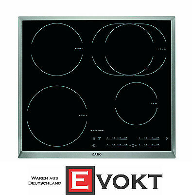 AEG HK6542H1XB Built In Induction Hob Ceramic Glass 4 Cooking Zones Genuine NEW