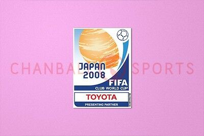 Club World Cup Japan 2008 Sleeve Soccer Patch / Badge