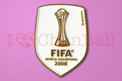 Manchester United Club World Cup 2008 Winner Sleeve Soccer Patch / Badge