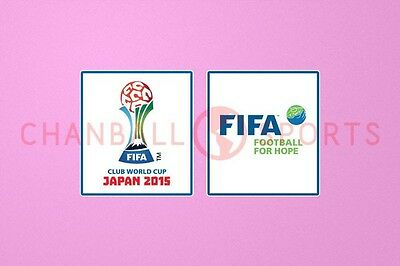 Club World Cup Japan 2015 Sleeve Soccer Patch / Badge