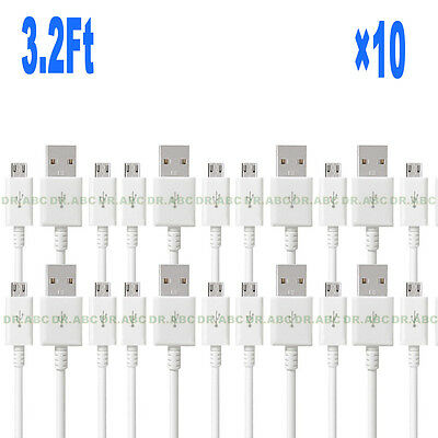 10x 3FT OEM Rapid Charge Micro USB Cable Fast Charging Cord For Samsung Android