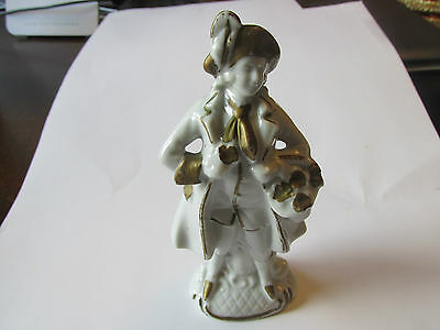 Colonial Porcelain Figurine of Man Made in Occupied Japan