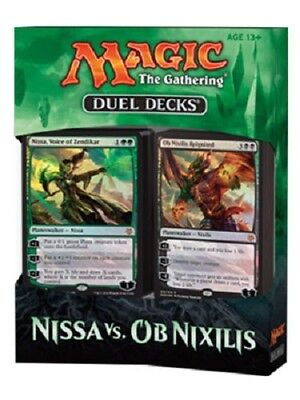 Magic Duel Decks Nissa vs. Ob Nixilis (Englisch) Planeswalker 2 Decks Düstermond