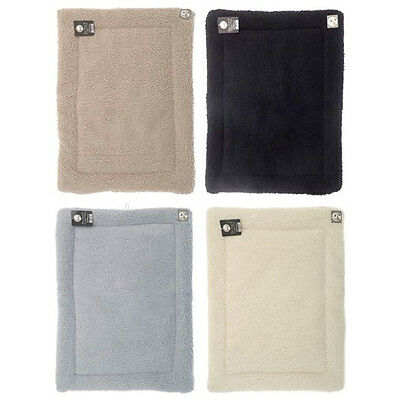 Lambswool Pet Bed Cage Mats Plush Synthetic Sheepskin Various Sizes and Colours