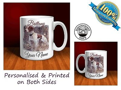 Brittany Personalised Ceramic Mug: Perfect Gift. (D065)