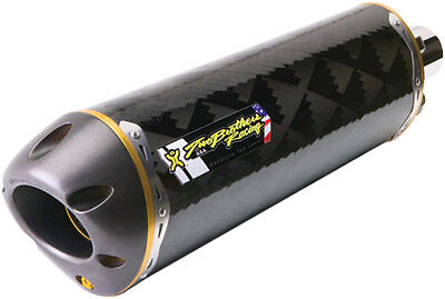 2007-2015 Hyosung 250 Two Brothers Exhaust Carbon Fiber Exhaust 005-2160407V