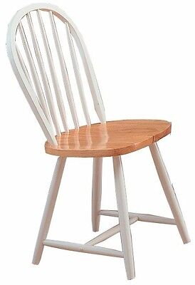 Coaster Country Windsor Kitchen Furniture Dining Chair Chairs, Set of 4
