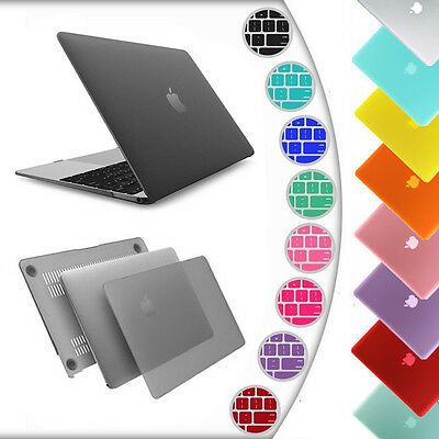 For New Apple Macbook 12 inch A1534 Matte Hard Laptop Case Cover Keyboard Skin