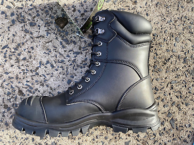 Cheapest Leather Steel Cap Work Boots Online Lace Up Cheap Safety