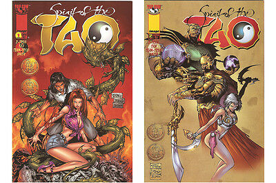 The Spirit of the Tao #1,2,3,4,5,6,7,8,9,10,11,12,13,14 (1998-1999, Image)