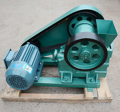 100X60 Mini Jaw Crusher for Rock Crushing, Ore/Slag/Coal/Stone Crusher 380V