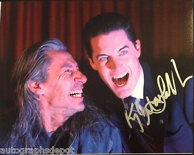 KYLE MacLACHLAN signed autographed rare TWIN PEAKS photo - REAL/IN-PERSON