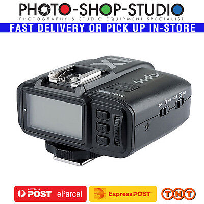 AU*Godox X1T-C TTL Wireless Flash Trigger Only X1 for Canon 1/8000s 2.4GHz