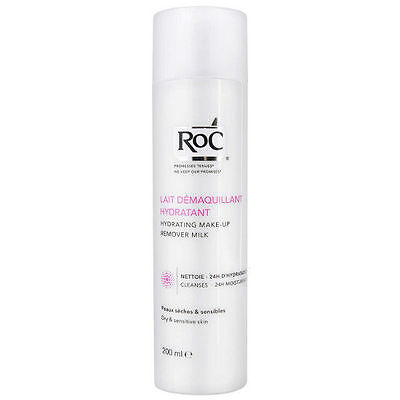RoC Hydrating Make-Up Remover Milk 200ml