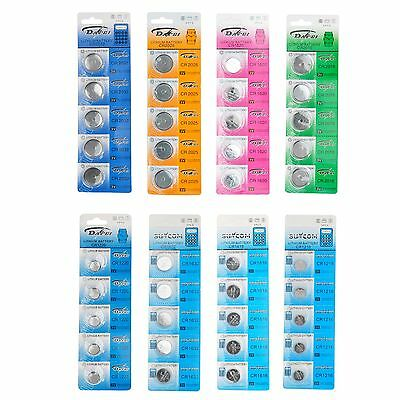 5X 10x CR2025 Battery 3V Coin Cell Button For Toys Remote Weigher Boards Modish