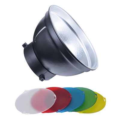 Godox AD-R6 Standard Reflector with SN-518 5 Color Gel Kit for AD600B AD600BM