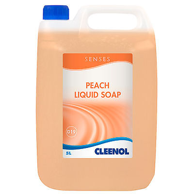 Senses Peach Liquid Soap - 5L