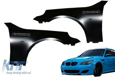 BMW M 5 E60 E61 03-10 Front Fenders Limo Saloon Estate M5 Design Side Wings