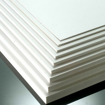 White Matt Pvc Foamex Foam Sheets Sign Display Mounting Foamboard Signage Board
