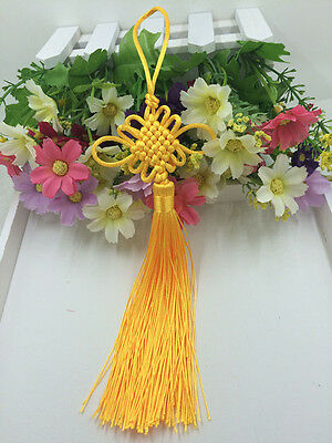 Chinese knot auspicious knot tassel delicate rayon junction Hang knot golden