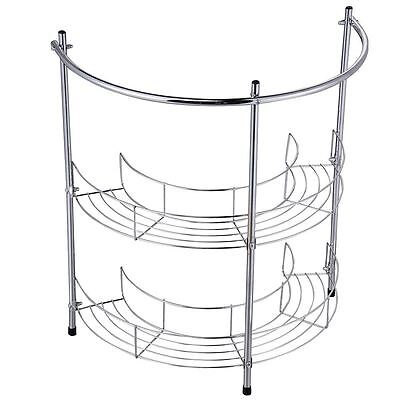 Under Basin Rack 2 Tier Bathroom Sink Storage Shelf Organiser By Home Discount