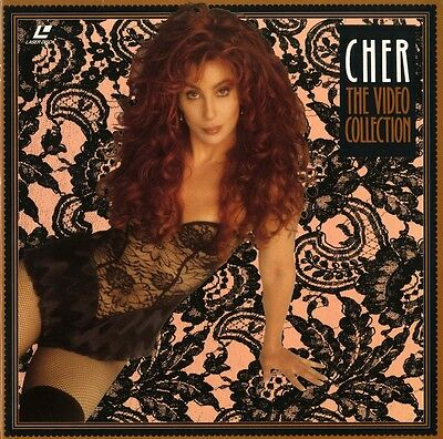 Cher : Laserdisc - The Video Collection - Near Mint