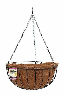 Metal Flower Garden Planter Hanging Basket 3 Sizes Available
