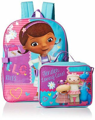 Disney Girls' Doc Mcstuffins Backpack with Lunch