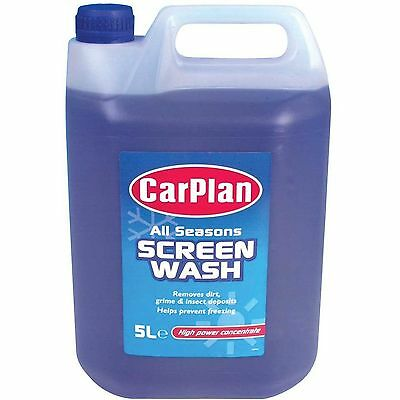 NEW Carplan All Seasons Screenwash Ready To Use or Concentrate Size Choice