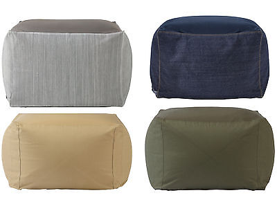 "Muji amazing body-fit cushion 4 colors ""Cover ONLY"" chair pillow Beads Sofa"