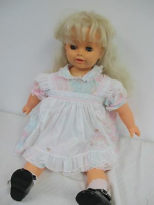 """Ideal Patty Play Pal Doll Vintage 1987 Battery Operated Animated Large 26"""""""