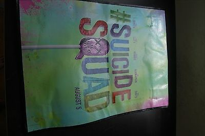SUICIDE SQUAD 2016 SDCC San Diego Comic Con Exclusive Large Tote Swag Bag