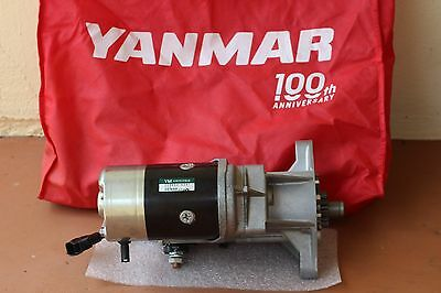 Yanmar Marine Diesel Starter 119733 77010 6LP DTE 6LP STE yanmar marine diesel alternator 6lp dte 6lp ste 119773 77200 Parts Manual Yanmar 6LP Ste at edmiracle.co