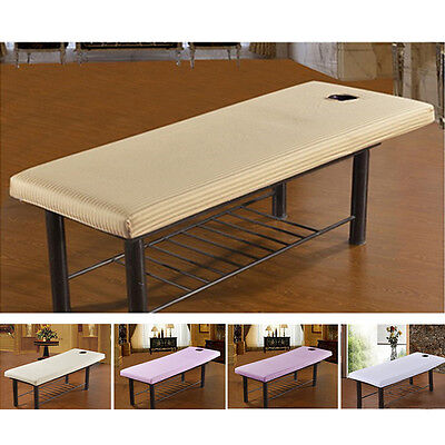 Beauty Massage Tables Bed Plinth Treatment Couches Covers WITH Face Breath Hole
