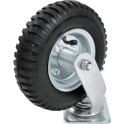 "8"" Pneumatic Rubber Soft Air Filled Swivel Caster Wheel Tire"
