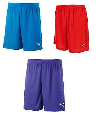 New Mens Puma Dry Cell football Shorts Red Or Blue Size S M L XL XXL