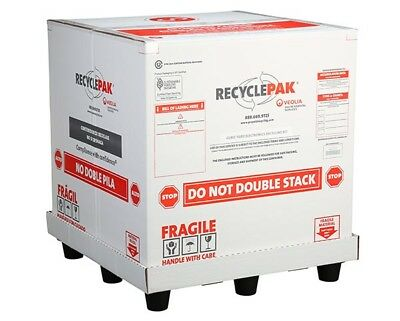 Veolia SUPPLY-260 Cubic Yd 450 lbs of Electronic Equipment Prepaid Return