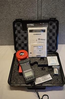 NEW - GREENLEE CMGRT-100 GROUND RESISTANCE TESTER - MEASURES UP TO 30-Amp RMS