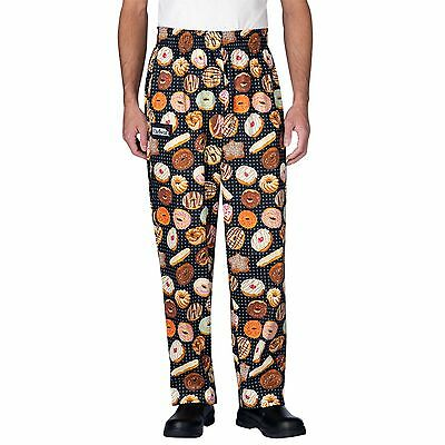 Chefwear 3500-208 Ultimate Chef Pant Donuts all sizes XS-2XL NEW!
