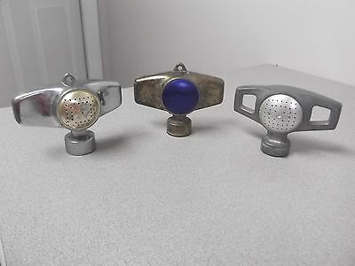 RAIN BIRD Old Shower Head Nozzle / Hose End Sprinklers Cast Metal 3 different